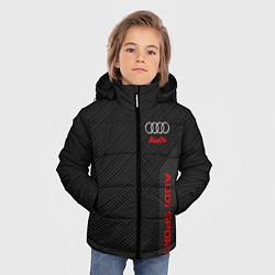 Куртка зимняя для мальчика Audi: Sport Line цвета 3D-черный — фото 2