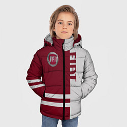 Детская зимняя куртка для мальчика с принтом Fiat, цвет: 3D-черный, артикул: 10147167306063 — фото 2