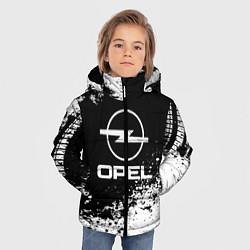 Куртка зимняя для мальчика Opel: Black Spray цвета 3D-черный — фото 2