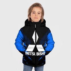 Куртка зимняя для мальчика Mitsubishi: Blue Anger цвета 3D-черный — фото 2