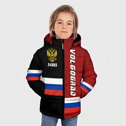 Куртка зимняя для мальчика Volgograd, Russia цвета 3D-черный — фото 2