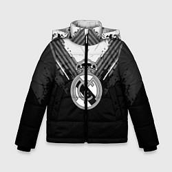 Куртка зимняя для мальчика FC Real Madrid: Black Style цвета 3D-черный — фото 1
