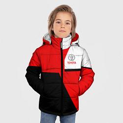 Куртка зимняя для мальчика Toyota Sport цвета 3D-черный — фото 2