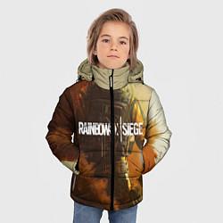 Куртка зимняя для мальчика Rainbow Six Siege: Outbreak цвета 3D-черный — фото 2
