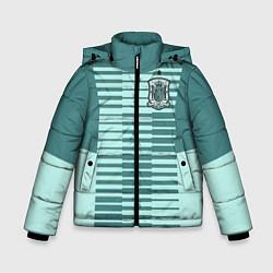 Куртка зимняя для мальчика Сборная Испании: Вратарская ЧМ-2018 цвета 3D-черный — фото 1