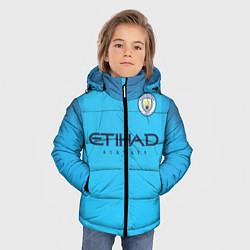 Куртка зимняя для мальчика FC Man City: Home 18-19 цвета 3D-черный — фото 2