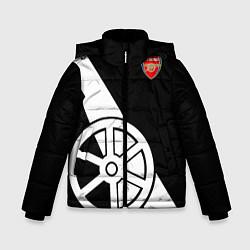 Куртка зимняя для мальчика FC Arsenal: Exclusive цвета 3D-черный — фото 1