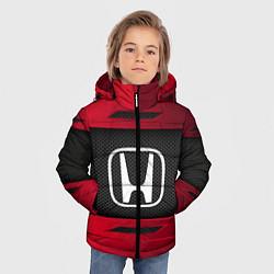 Куртка зимняя для мальчика Honda Sport цвета 3D-черный — фото 2
