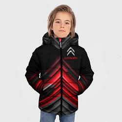 Куртка зимняя для мальчика Citroen: Red sport цвета 3D-черный — фото 2