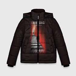 Куртка зимняя для мальчика Twin Peaks: Firewalk with me цвета 3D-черный — фото 1