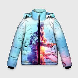 Куртка зимняя для мальчика Battlefield 5 цвета 3D-черный — фото 1