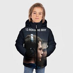 Куртка зимняя для мальчика 13 причин почему цвета 3D-черный — фото 2