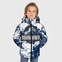 Куртка зимняя для мальчика Jurassic World: Cold Winter цвета 3D-черный — фото 2