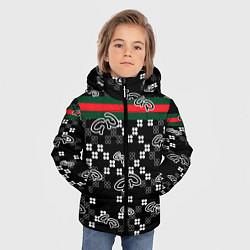 Куртка зимняя для мальчика GG Black Style цвета 3D-черный — фото 2
