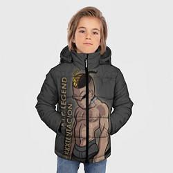Куртка зимняя для мальчика RIP Legend: XXXTentacion цвета 3D-черный — фото 2