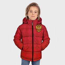 Куртка зимняя для мальчика Форма сборной России цвета 3D-черный — фото 2