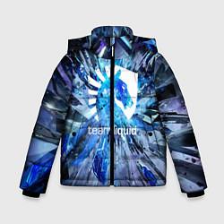 Куртка зимняя для мальчика Team Liquid: Splinters цвета 3D-черный — фото 1