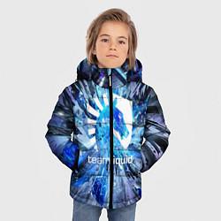 Детская зимняя куртка для мальчика с принтом Team Liquid: Splinters, цвет: 3D-черный, артикул: 10156122106063 — фото 2
