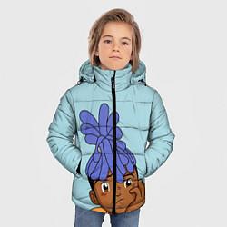 Куртка зимняя для мальчика XXXTentacion Kid цвета 3D-черный — фото 2