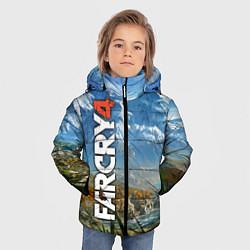 Куртка зимняя для мальчика Far Cry 4: Ice Mountains цвета 3D-черный — фото 2