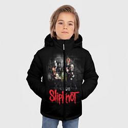 Куртка зимняя для мальчика Slipknot Band цвета 3D-черный — фото 2