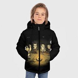 Куртка зимняя для мальчика Don't Starve campfire цвета 3D-черный — фото 2