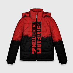 Куртка зимняя для мальчика RDD 2: Red & Black цвета 3D-черный — фото 1
