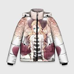 Куртка зимняя для мальчика Angels of Death цвета 3D-черный — фото 1