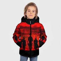 Куртка зимняя для мальчика RDR 2: Sunset цвета 3D-черный — фото 2