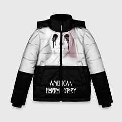 Куртка зимняя для мальчика American Horror Story цвета 3D-черный — фото 1