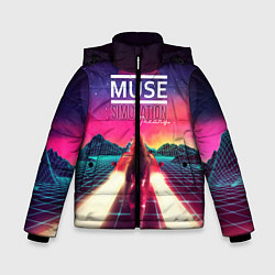 Куртка зимняя для мальчика Muse: Simulation Theory - фото 1