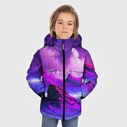 Куртка зимняя для мальчика No Man's Sky: Neon Mountains цвета 3D-черный — фото 2