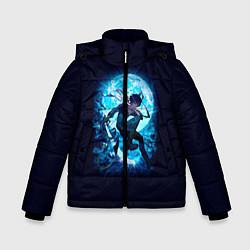 Куртка зимняя для мальчика Бездомный Бог цвета 3D-черный — фото 1