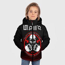Куртка зимняя для мальчика 30 Seconds to Mars цвета 3D-черный — фото 2