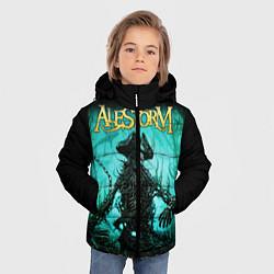 Куртка зимняя для мальчика Alestorm: Death Pirate цвета 3D-черный — фото 2