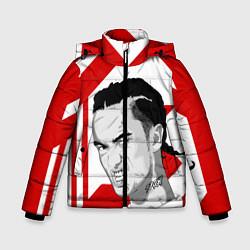 Куртка зимняя для мальчика GONE Fludd цвета 3D-черный — фото 1