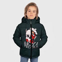 Детская зимняя куртка для мальчика с принтом Безумный азарт, цвет: 3D-черный, артикул: 10171197706063 — фото 2