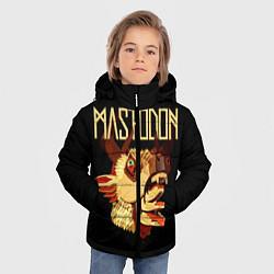 Куртка зимняя для мальчика Mastodon: Leviathan цвета 3D-черный — фото 2
