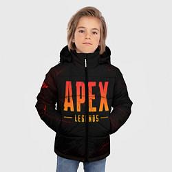 Куртка зимняя для мальчика Apex Legends: Dark Game цвета 3D-черный — фото 2