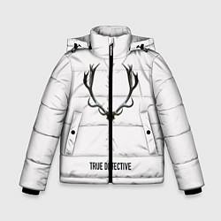 Куртка зимняя для мальчика True Detective цвета 3D-черный — фото 1