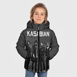 Куртка зимняя для мальчика Kasabian: Boys Band цвета 3D-черный — фото 2