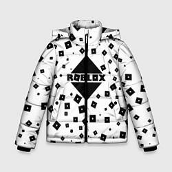 Куртка зимняя для мальчика Roblox Pattern цвета 3D-черный — фото 1