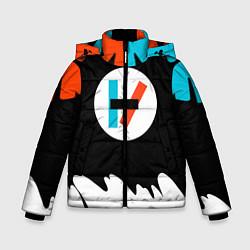 Куртка зимняя для мальчика 21 Pilots: Chlorine цвета 3D-черный — фото 1