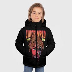Детская зимняя куртка для мальчика с принтом Juice WRLD, цвет: 3D-черный, артикул: 10173990506063 — фото 2