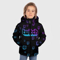 Куртка зимняя для мальчика Twitch: Neon Style - фото 2