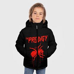 Куртка зимняя для мальчика The Prodigy: Blooded Ant цвета 3D-черный — фото 2