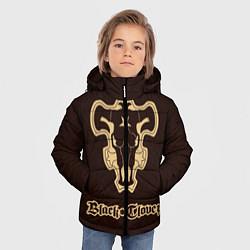 Куртка зимняя для мальчика Black Clover цвета 3D-черный — фото 2