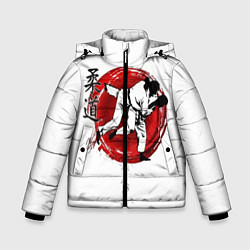 Куртка зимняя для мальчика Judo: Japan цвета 3D-черный — фото 1