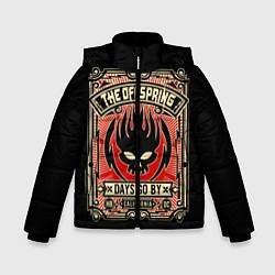 Куртка зимняя для мальчика The Offspring: Days Go By цвета 3D-черный — фото 1