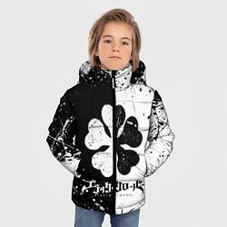 Куртка зимняя для мальчика ЧЁРНЫЙ КЛЕВЕР цвета 3D-черный — фото 2